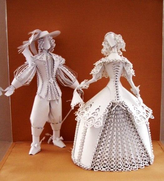 Кукла своими руками из бумаги