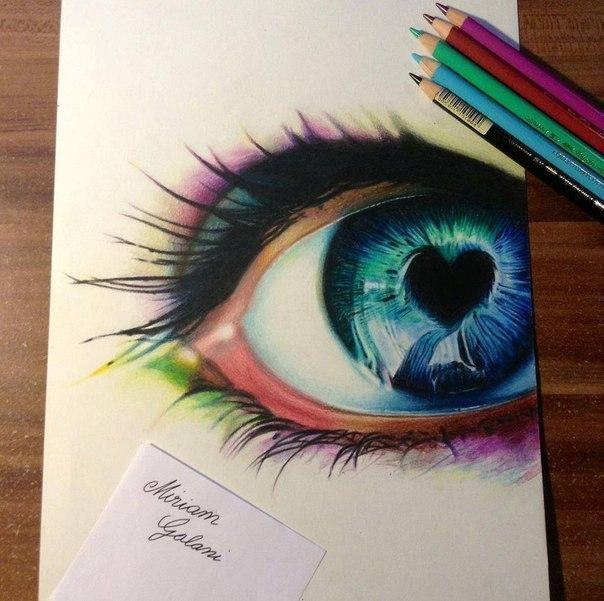 Рисовать красивые рисунки цветные