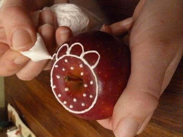 Как сделать сахарное яблоко 332