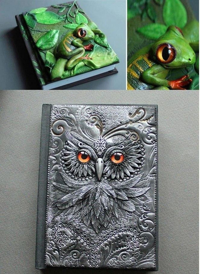 Необычные обложки для книг
