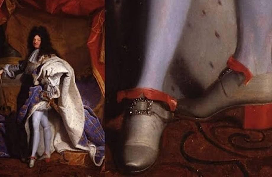 Факты из мира: обувь изначально носили мужчины
